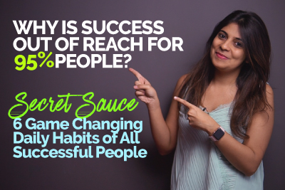 Why only 5% people are successful? 6 Daily Habits of All Successful People - The Secret Sauce | Motivation By Skillopedia