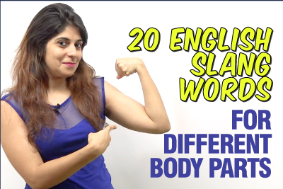 Learn English Slang Words & Phrases for Different Body Parts | Informal Vocabulary | English Speaking Practice | Niharika