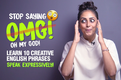 Stop Saying - OMG! Learn Better English Words & Phrases To Express Surprise & Anger | Speak Fluent English