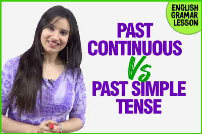 Past Simple and Past Continuous Tense - English Grammar Lesson   Learn English With Michelle