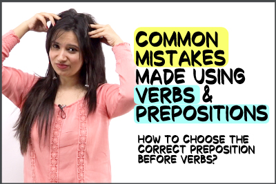 Common English Mistakes Made With Prepositions & Verbs   English Grammar Lesson   Error Detection & Solving