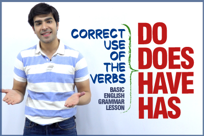 Correct Use of Auxiliary Verbs Do, Does, Have, Has in Sentences - Basic English Grammar Lesson | Learn English With Hridhaan
