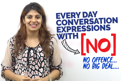 Advanced English Conversation Expressions With 'NO'   Improve Your English Speaking   Learn English With Niharika