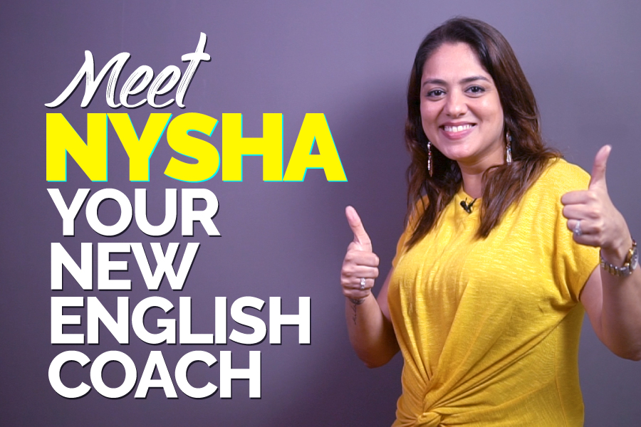 Learn English With Nysha - Your New Spoken English Coach   Stay Tuned For Amazing English Lessons
