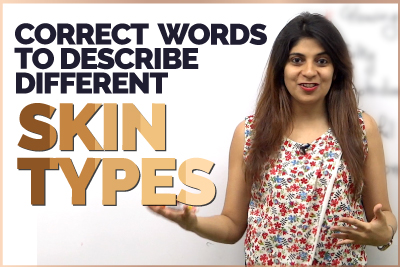 Correct English Words To Describe Different Skin Types   Improve English Vocabulary   Learn English With Niharika