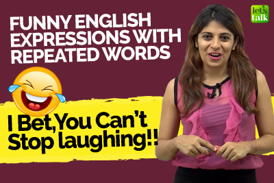 Funny English Expressions With Repeated Words That Would Make You Laugh! Learn English With Niharika
