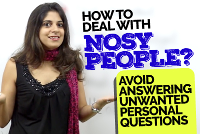 How To Deal With Nosy People? Smart English Phrases To Avoid Answering Unwanted Personal Questions