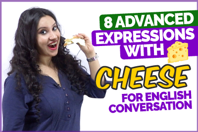 Advanced English Expressions With Cheese For Conversation - Slang English Phrases   Learn English With Michelle