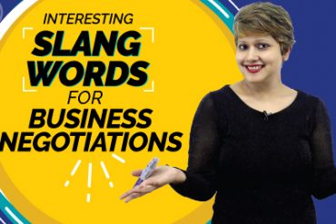 Interesting English Slang Words For Business Negotiations | English For Work And Office