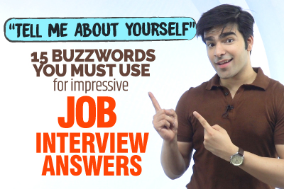Job Interview Question 💼- Tell Me About Yourself? - 15 Buzzwords You Must Use For In Your Answer