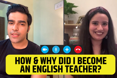 Why And How Did I Become An English Teacher? Learn English With Michelle & Hridhaan