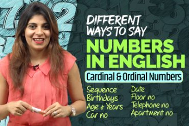 Different Ways To Say Numbers in English   Birthday, Years, Telephone, Dates