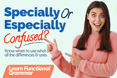 Especially Vs Specially | Homonyms | 🤔 Commonly Confused English Words | Learn Functional Grammar