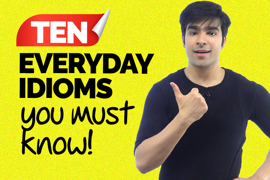 Common English Idioms Used In Daily English Conversation | Speak English Fluently | Hridhaan