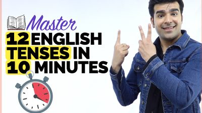 🔴 Master 12 English Tenses In 10 Minutes   Brush Up Your English Grammar Skills