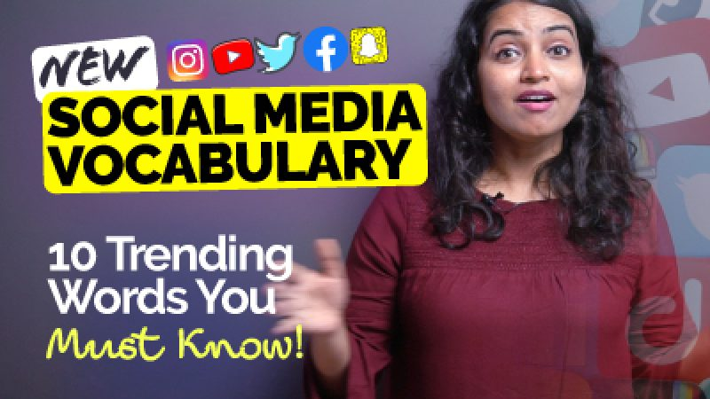 New Social Media Vocabulary In English   10 Trending Words You Must Know!