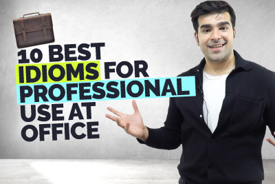 10 Best English Idioms For Professional Use In Conversations At Office | Business English Lesson