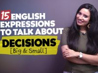 Useful English Expressions, Idioms & Phrases For Making Decisions🤔